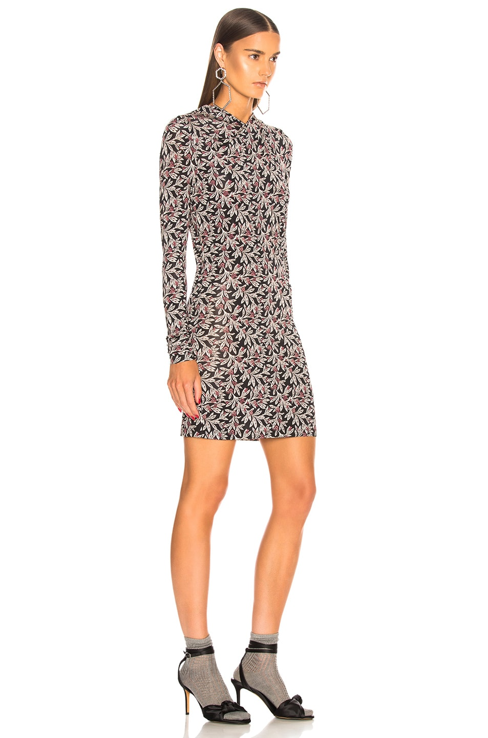 Image 3 of Isabel Marant Etoile Trani Dress in Pink & Black