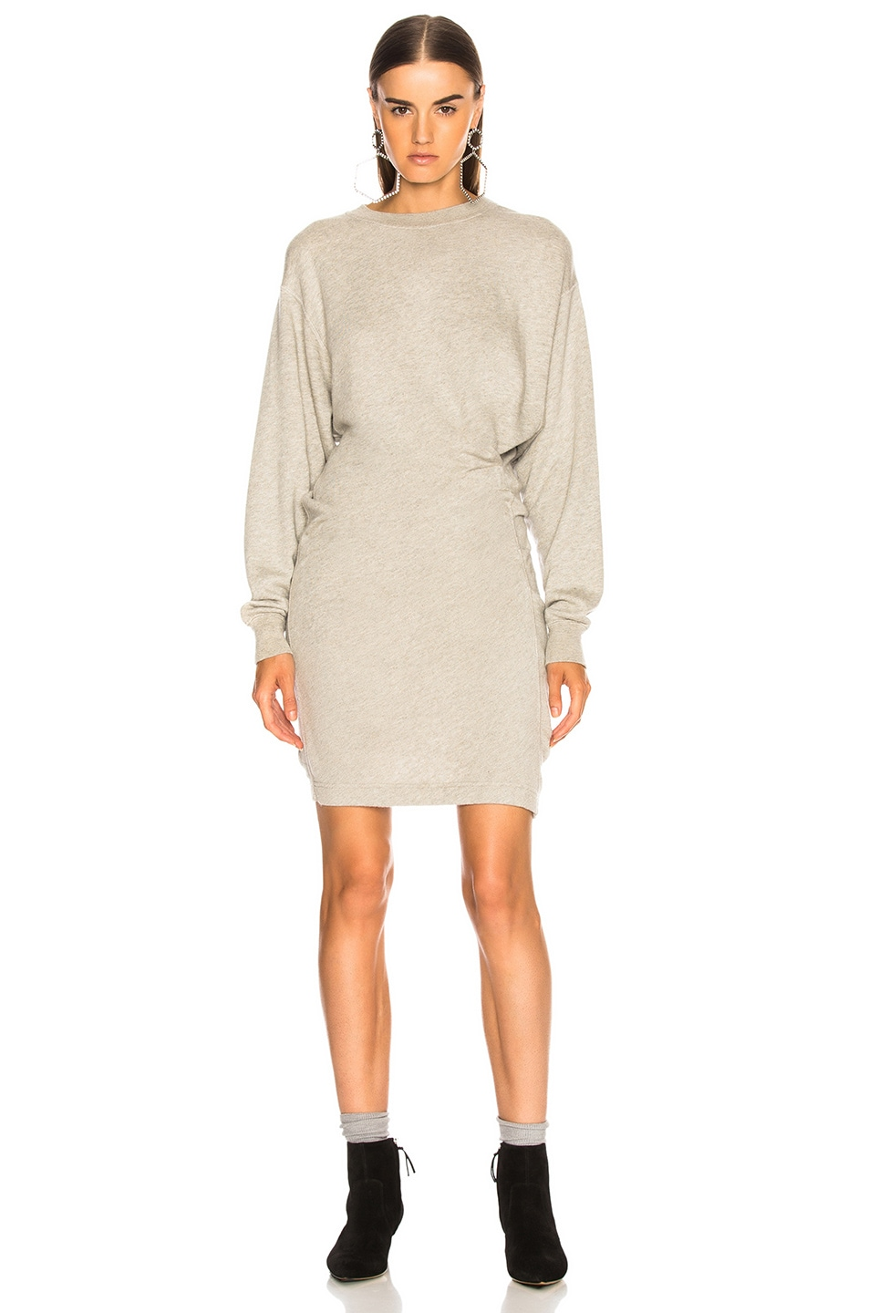 Image 2 of Isabel Marant Etoile Fewlyn Dress in Light Grey