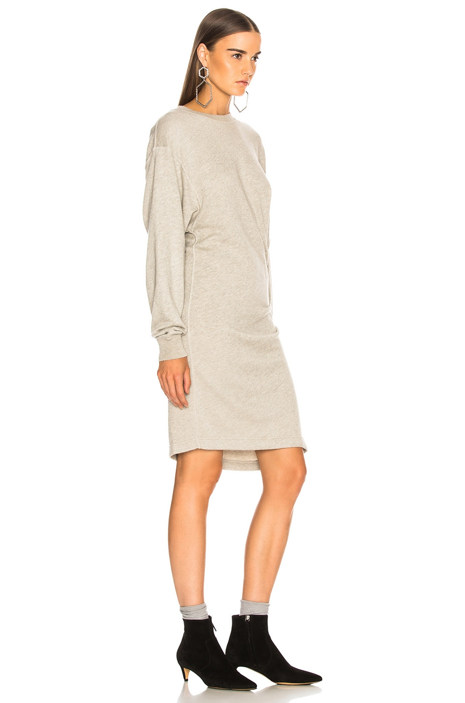 Image 3 of Isabel Marant Etoile Fewlyn Dress in Light Grey