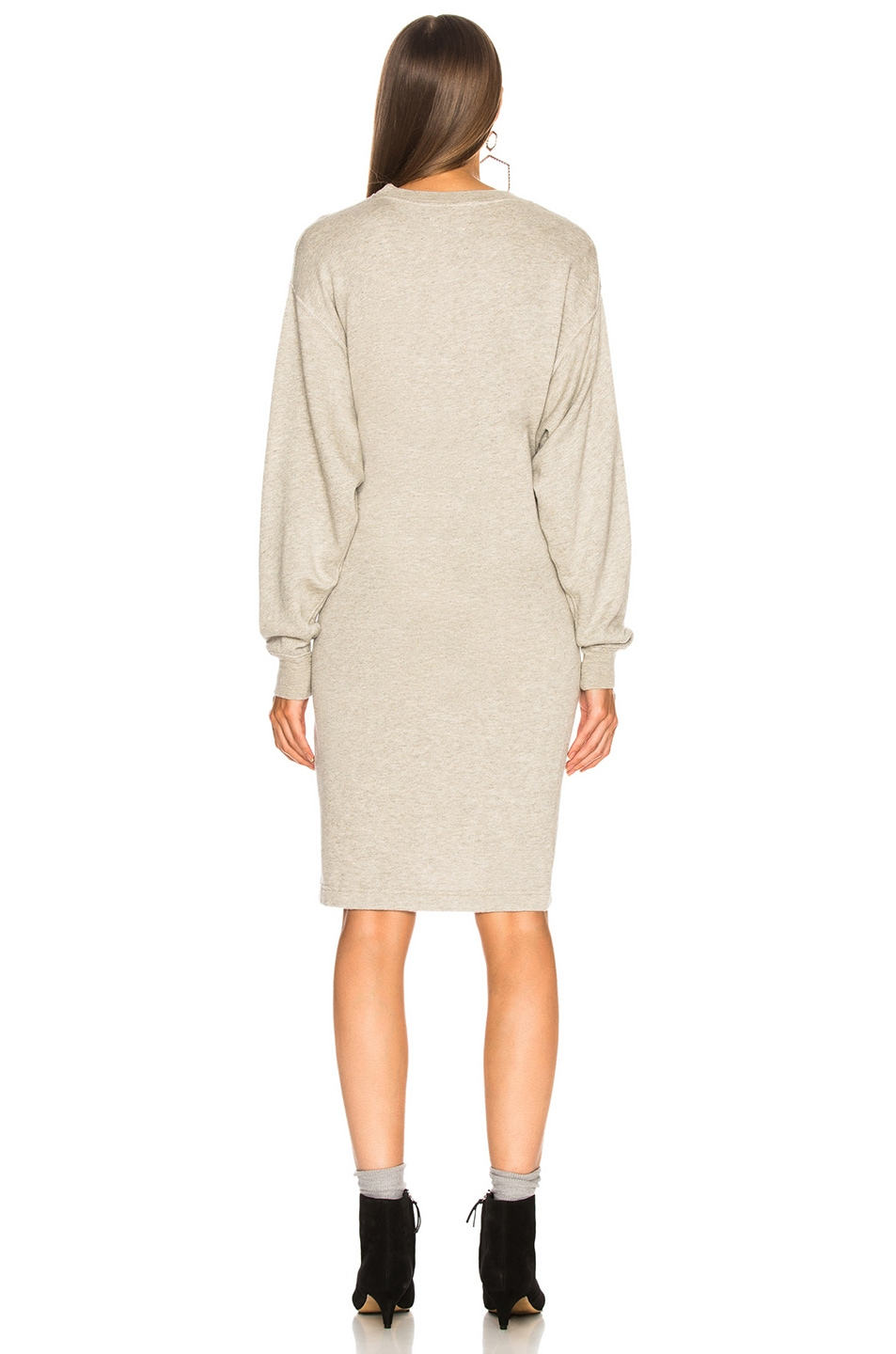 Image 5 of Isabel Marant Etoile Fewlyn Dress in Light Grey