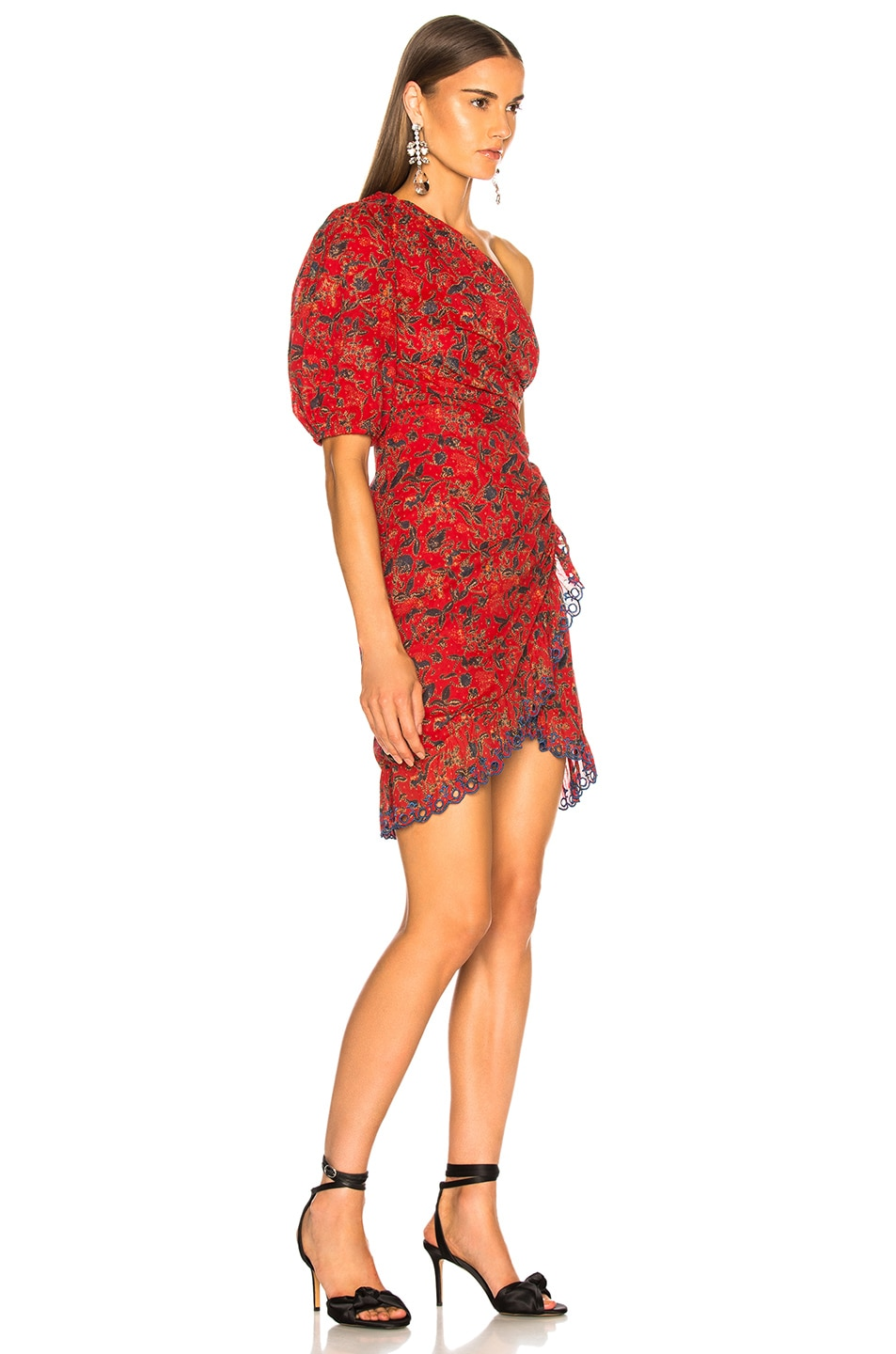 Image 2 of Isabel Marant Etoile Esther Dress in Red