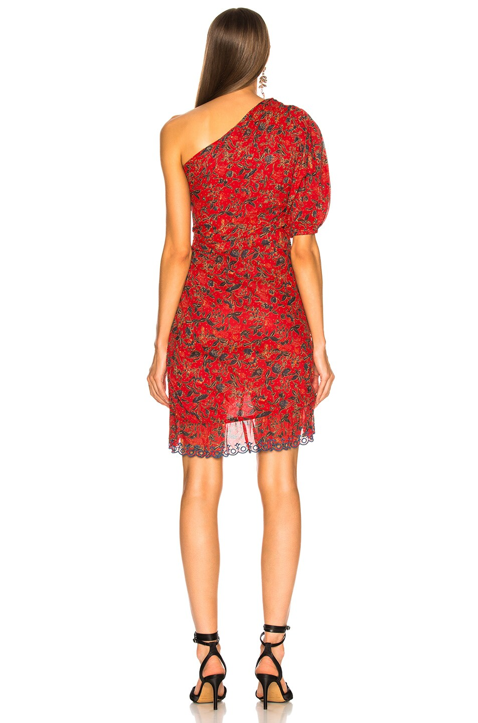 Image 4 of Isabel Marant Etoile Esther Dress in Red