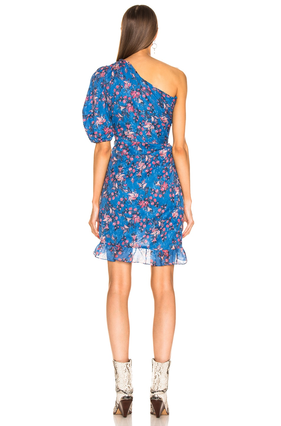 Image 4 of Isabel Marant Etoile Esther Dress in Blue