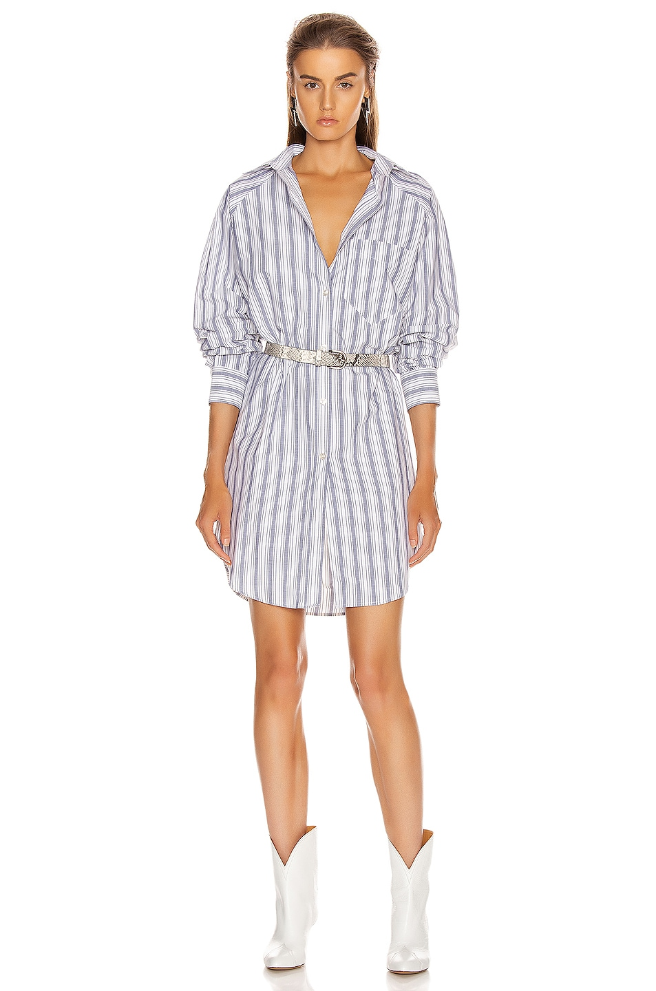 Image 1 of Isabel Marant Etoile Sanders Dress in Blue