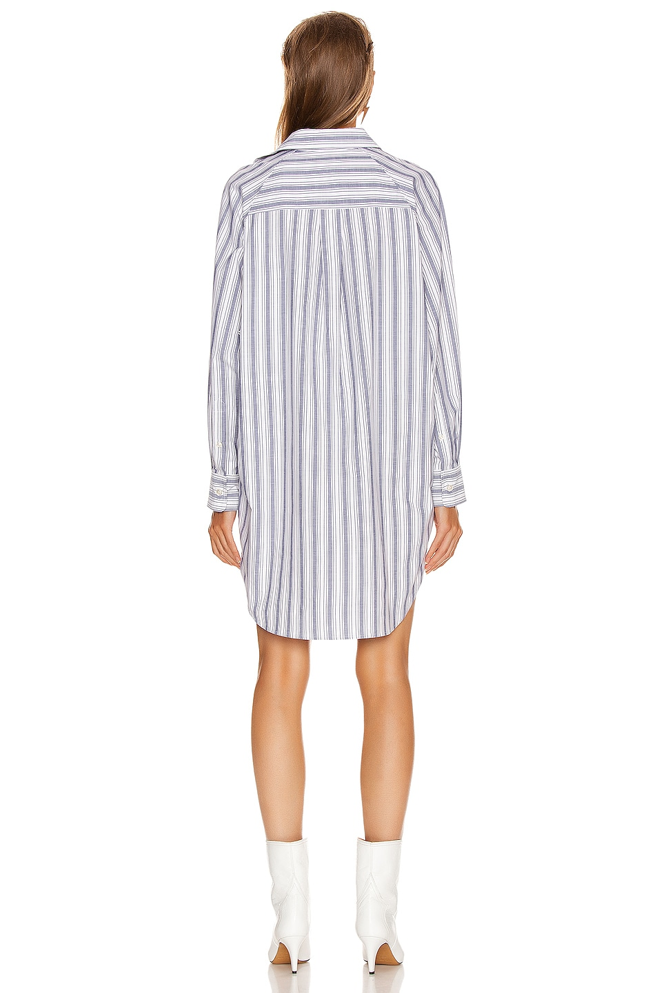 Image 3 of Isabel Marant Etoile Sanders Dress in Blue