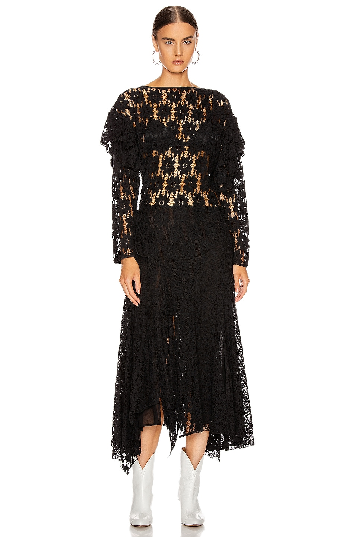 Image 1 of Isabel Marant Etoile Vally Dress in Black