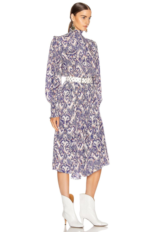 Image 2 of Isabel Marant Etoile Yescott Dress in Blue