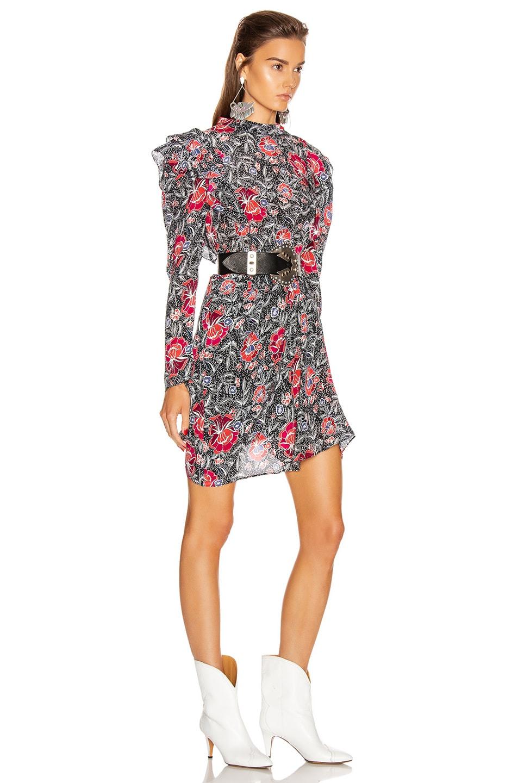 Image 2 of Isabel Marant Etoile Yoana Dress in Black