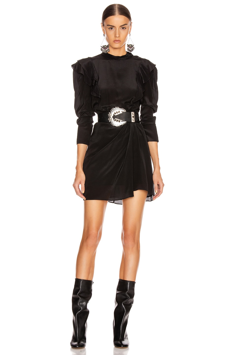 Image 1 of Isabel Marant Etoile Yoana Dress in Black
