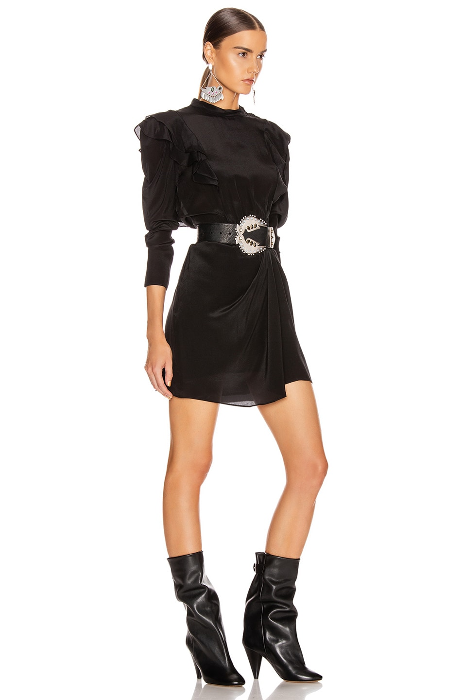 Image 2 of Isabel Marant Etoile Yoana Dress in Black