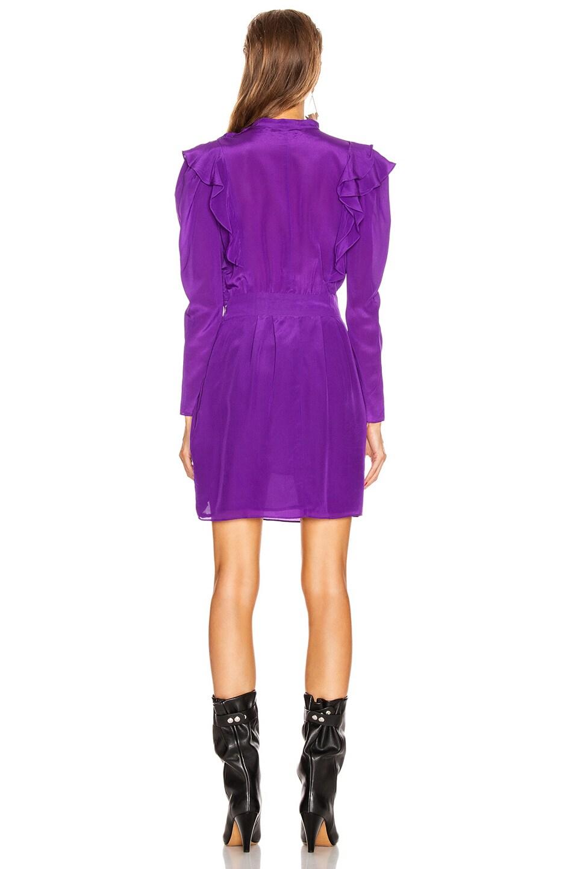 Image 4 of Isabel Marant Etoile Yoana Dress in Purple