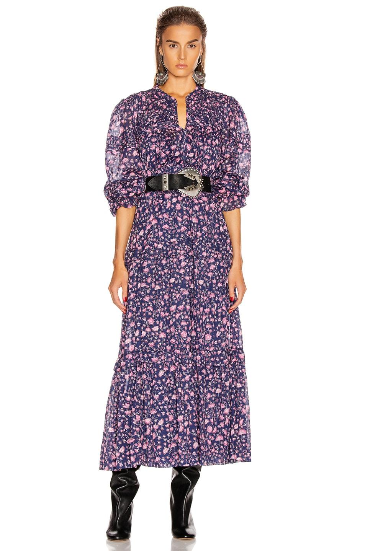 Image 1 of Isabel Marant Etoile Likoya Dress in Midnight
