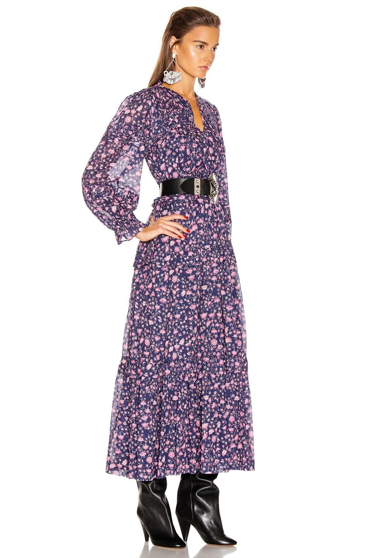Image 2 of Isabel Marant Etoile Likoya Dress in Midnight