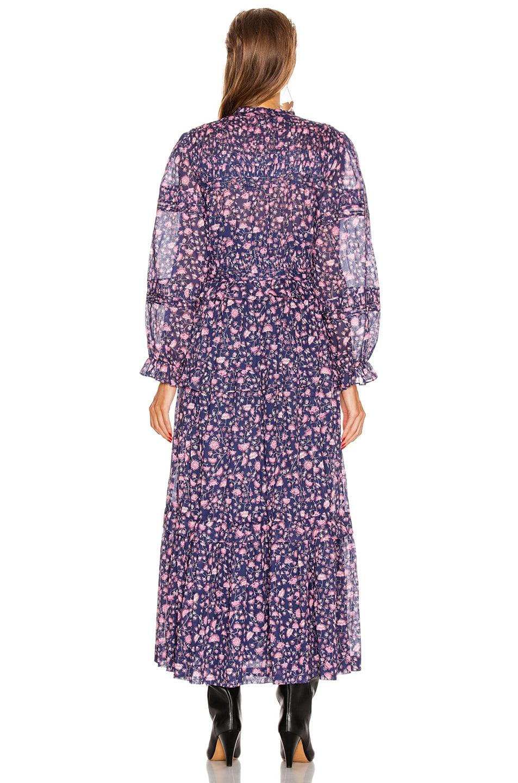Image 3 of Isabel Marant Etoile Likoya Dress in Midnight