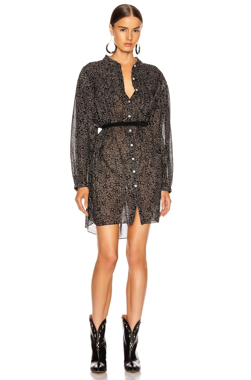 Image 1 of Isabel Marant Etoile Lana Dress in Black