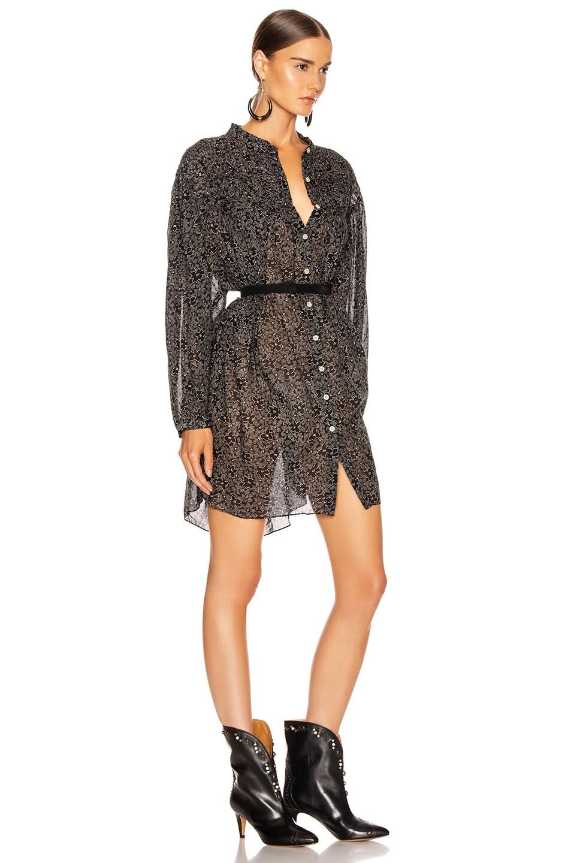 Image 2 of Isabel Marant Etoile Lana Dress in Black