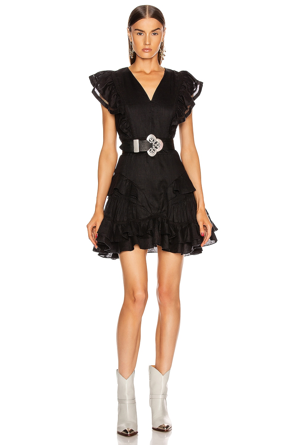 Image 1 of Isabel Marant Etoile Audrey Dress in Black