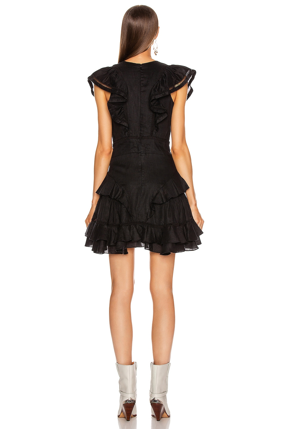Image 3 of Isabel Marant Etoile Audrey Dress in Black