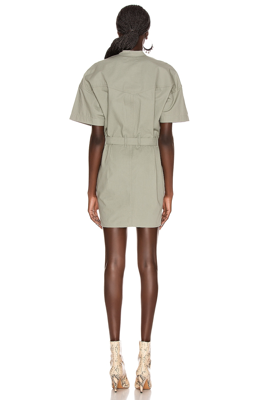 Image 3 of Isabel Marant Etoile Zolina Dress in Verdigris