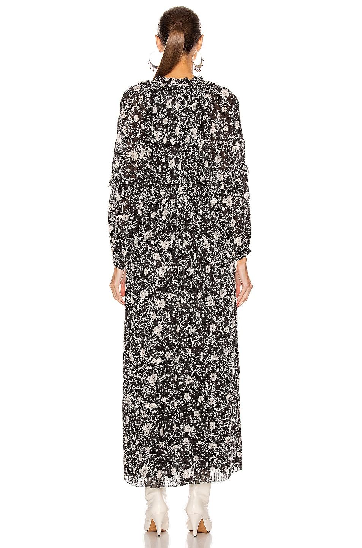 Image 3 of Isabel Marant Etoile Estine Dress in Black & Ecru