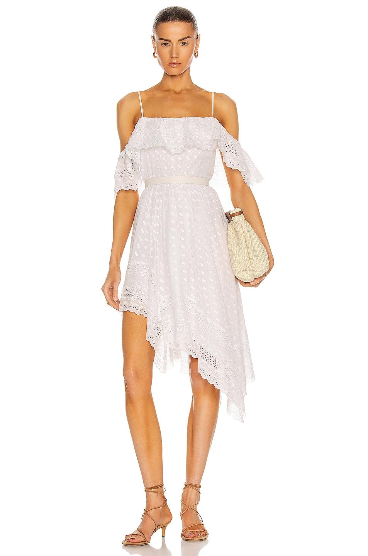 Image 1 of Isabel Marant Etoile Timoria Dress in White