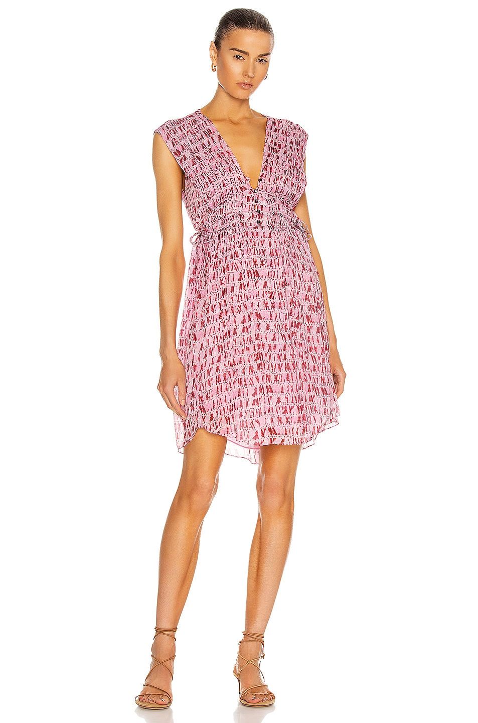 Image 1 of Isabel Marant Etoile Segun Dress in Red