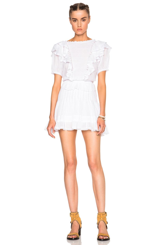 Image 1 of Isabel Marant Etoile Naoko Alice Items Dress in White