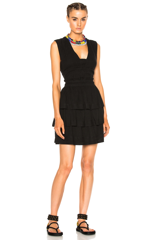 Image 1 of Isabel Marant Etoile Kali City Flou Dress in Black