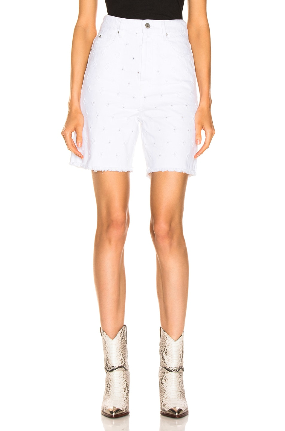 Image 1 of Isabel Marant Etoile Liny Short in White
