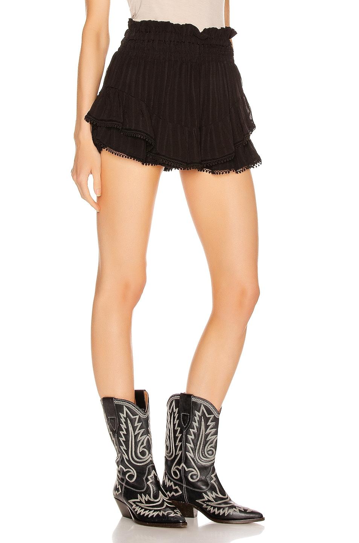 Image 2 of Isabel Marant Etoile Janis Short in Black