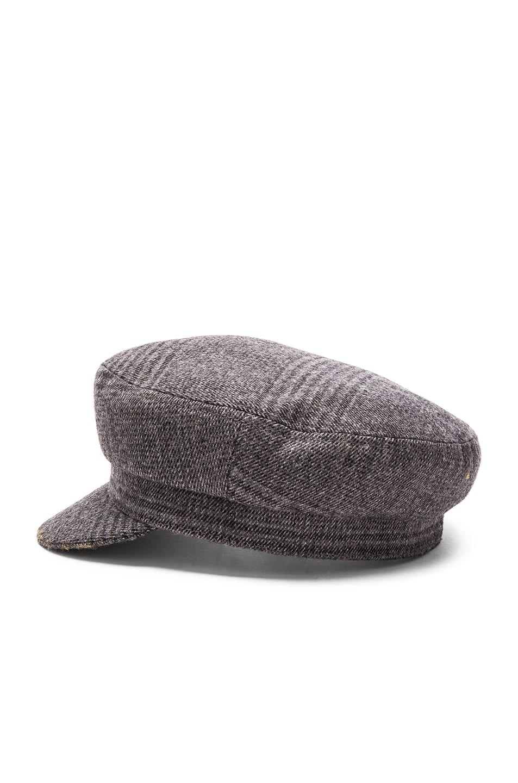 Image 3 of Isabel Marant Etoile Evie Flanelle Hat in Grey