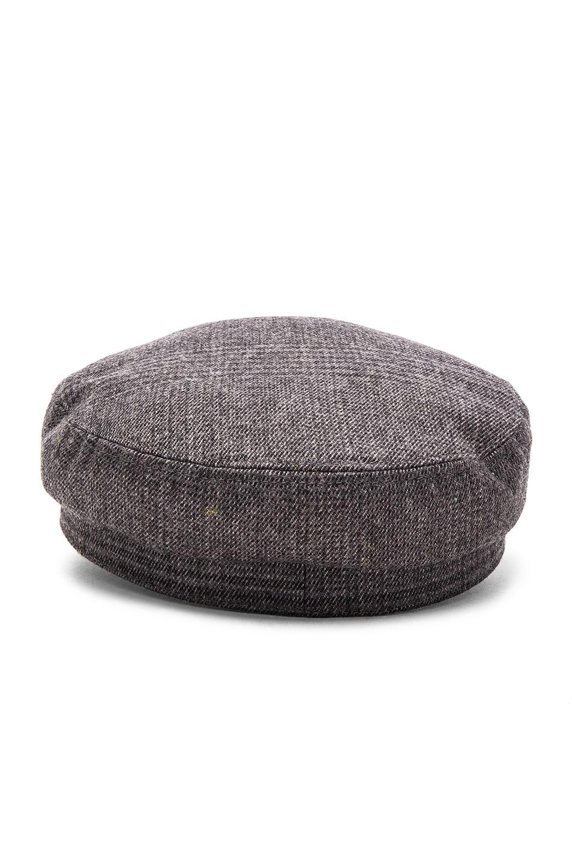 Image 4 of Isabel Marant Etoile Evie Flanelle Hat in Grey