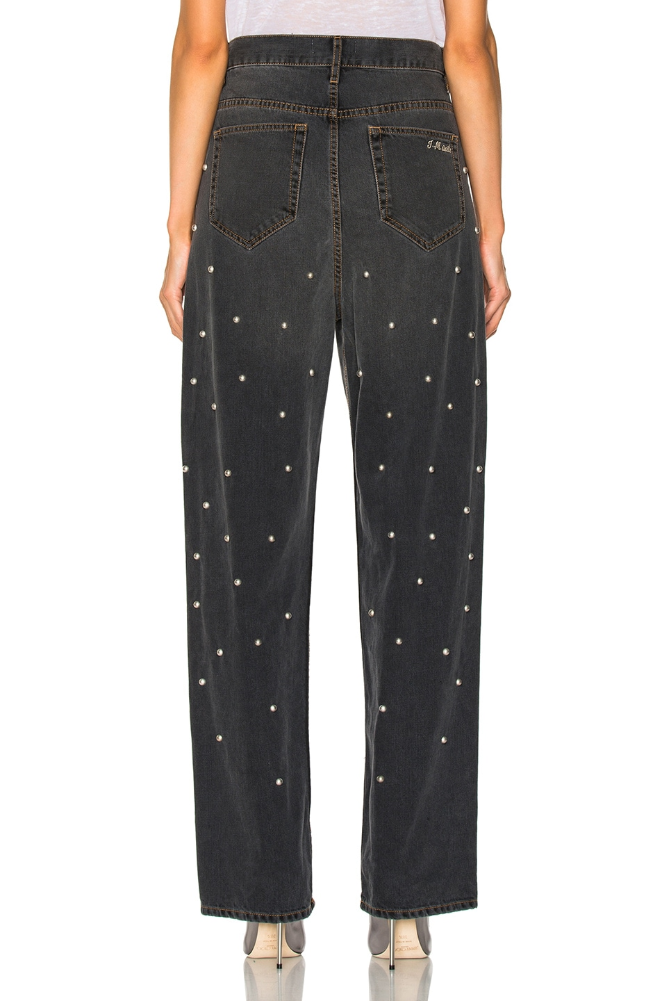 studded jeans - Grey Isabel Marant