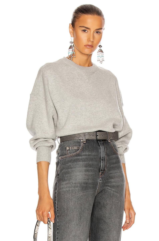 Image 1 of Isabel Marant Etoile Lucia Sweater in Grey