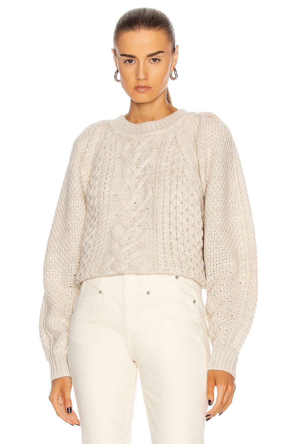 Image 1 of Isabel Marant Etoile Romy Sweater in Ecru