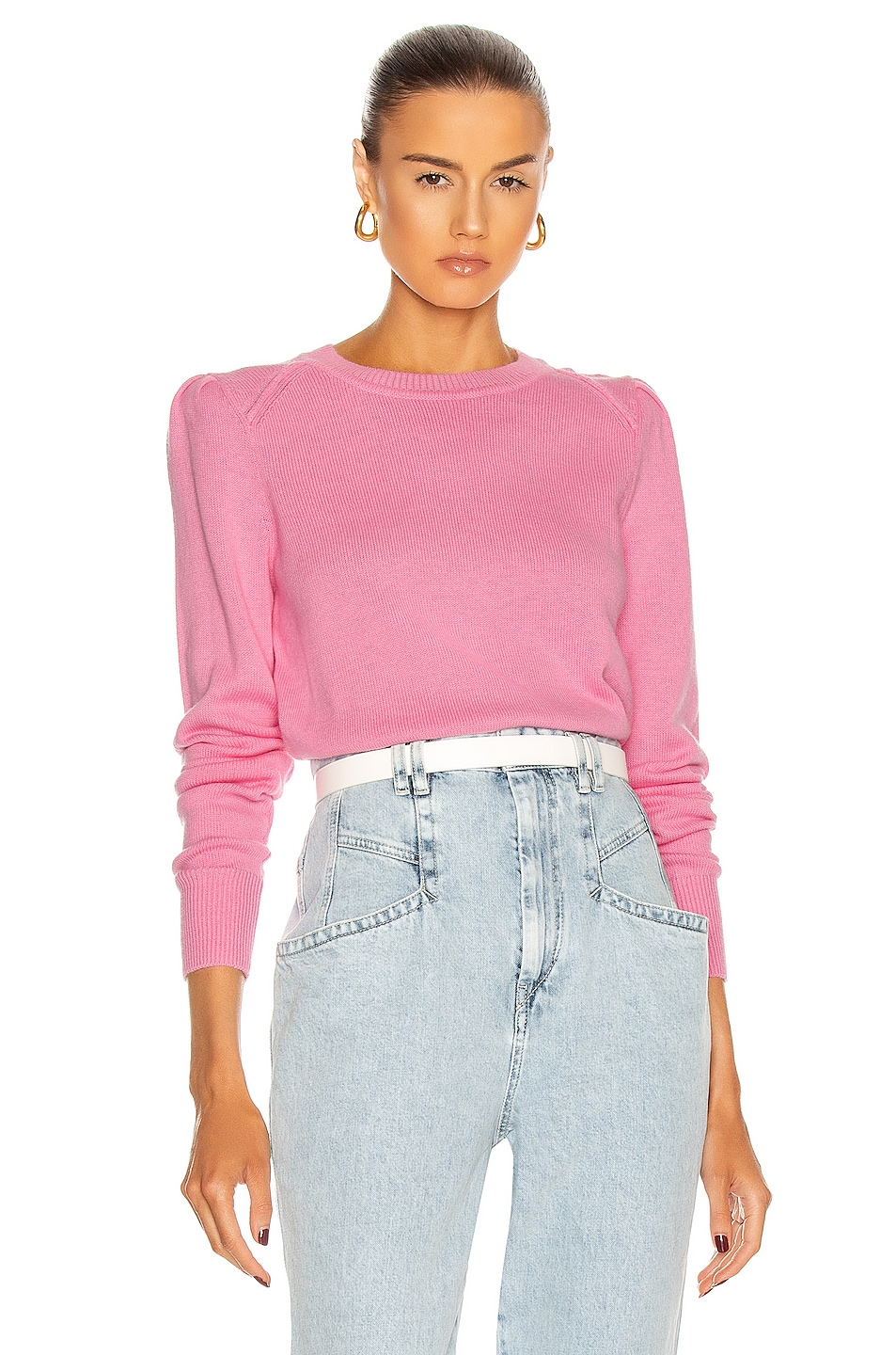 Image 1 of Isabel Marant Etoile Kleely Sweater in Pink