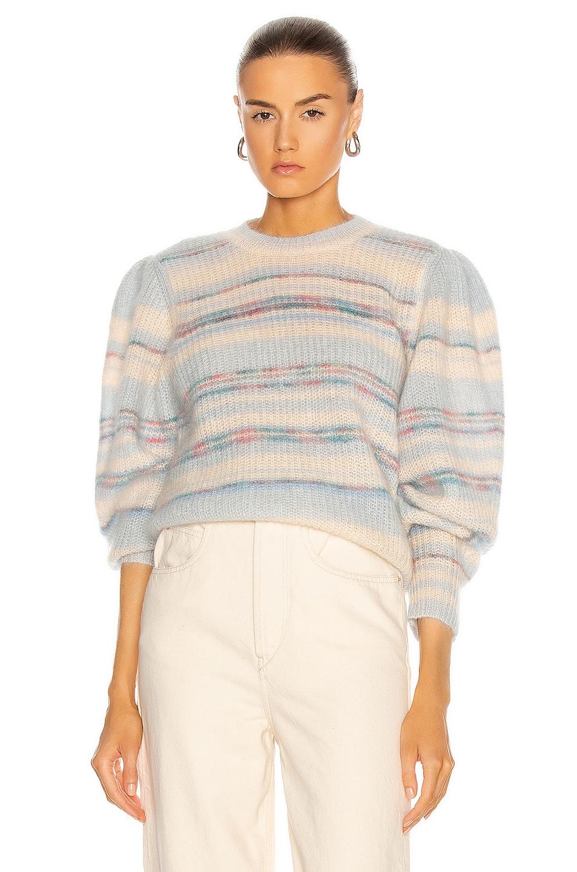 Image 1 of Isabel Marant Etoile Eleonore Sweater in Blue