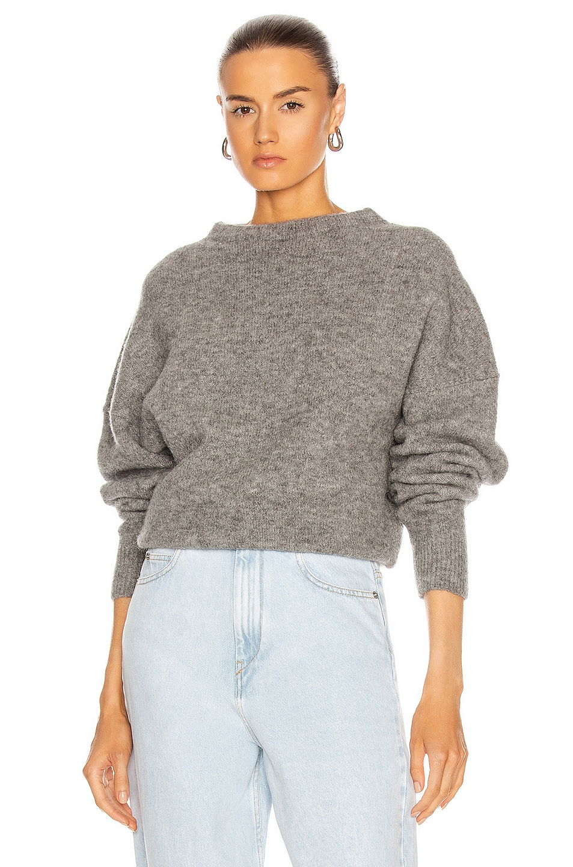 Image 1 of Isabel Marant Etoile Halden Sweater in Grey