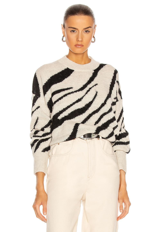 Image 1 of Isabel Marant Etoile Genna Sweater in Black