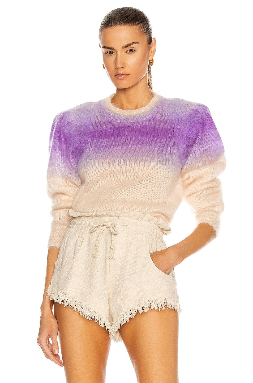 Image 1 of Isabel Marant Etoile Deniz Sweater in Purple