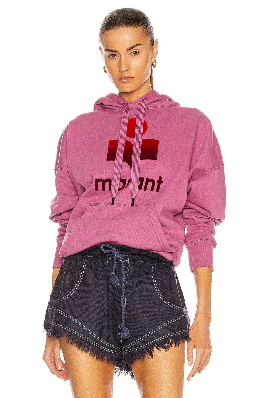 Image 1 of Isabel Marant Etoile Mansel Hoodie in Pink