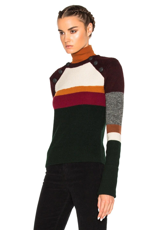 bca411000cd Isabel Marant Etoile Doyle Zermatt Sweater in Dark Green | FWRD