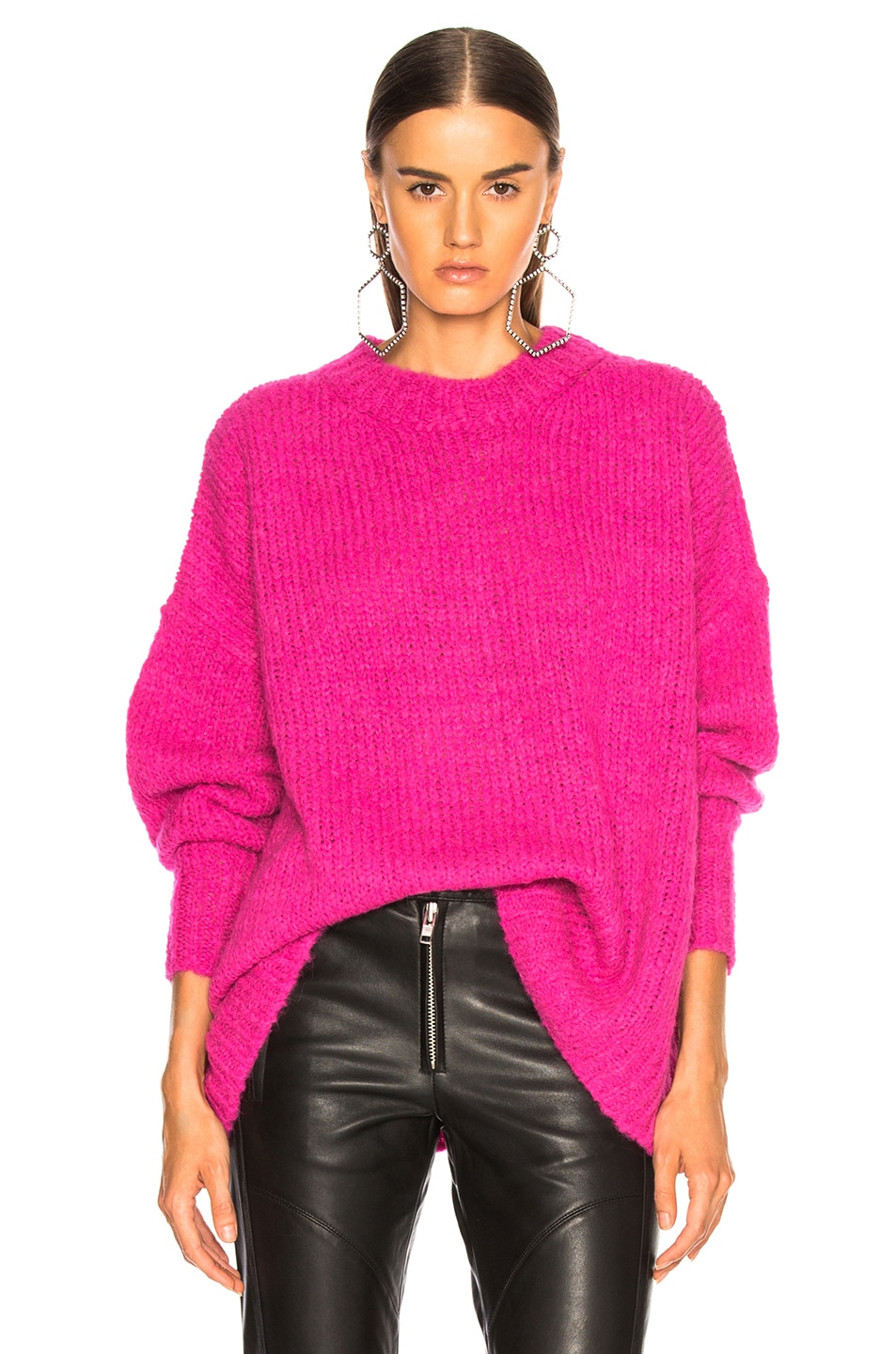 Image 1 of Isabel Marant Etoile Sayers Sweater in Pink Drop