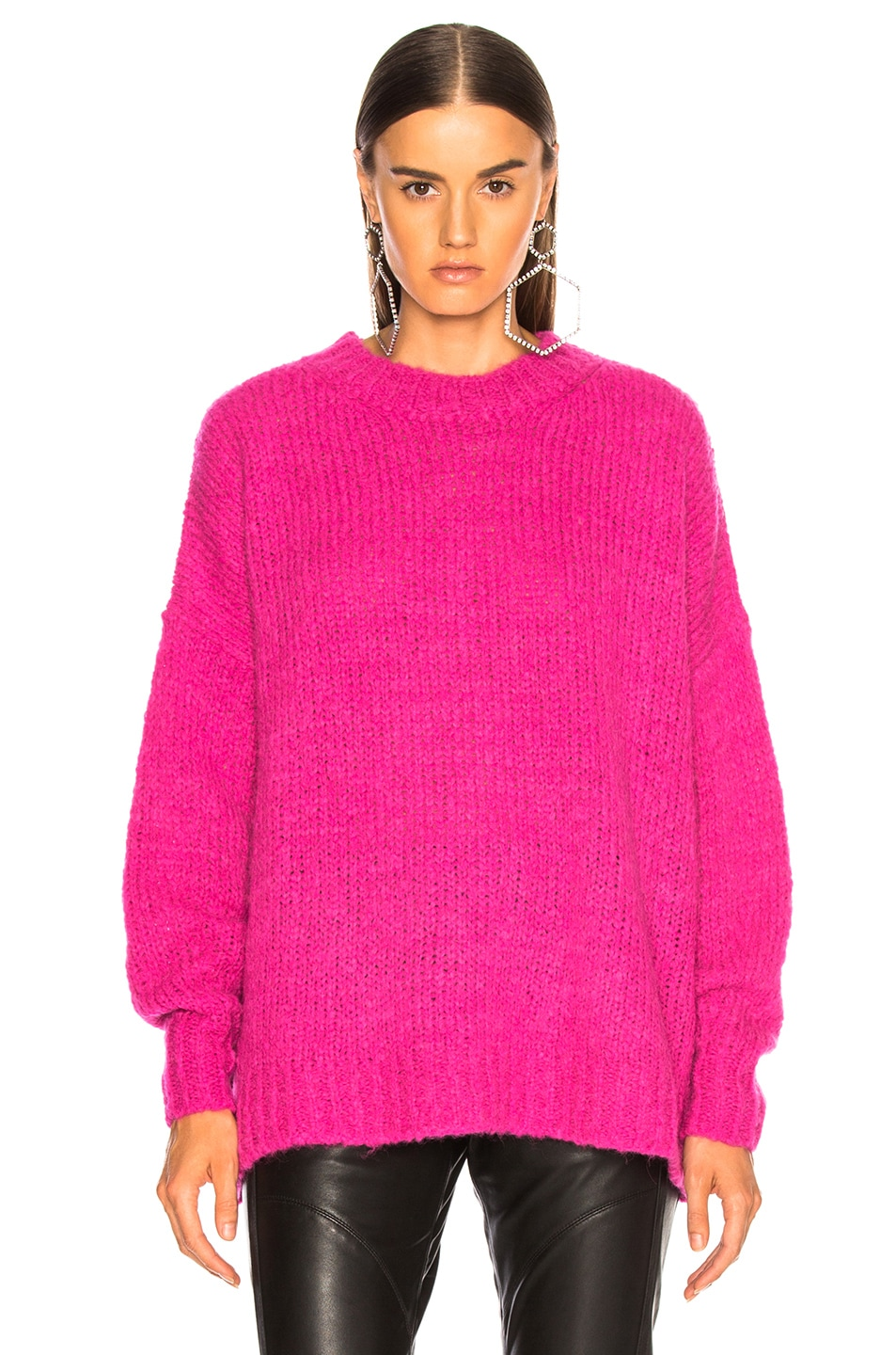 Image 2 of Isabel Marant Etoile Sayers Sweater in Pink Drop