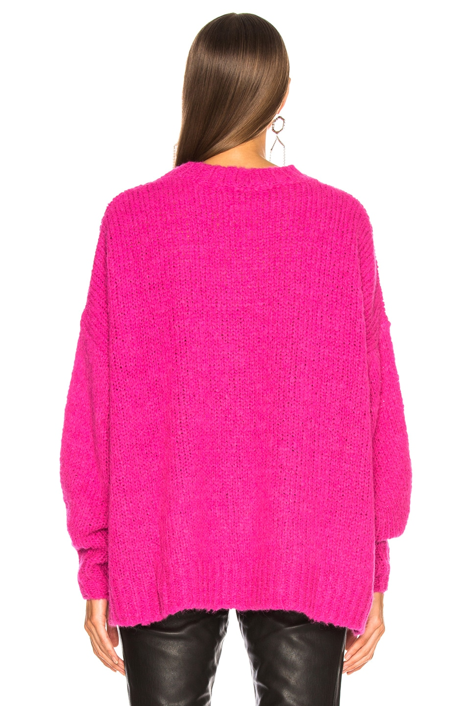 Image 4 of Isabel Marant Etoile Sayers Sweater in Pink Drop