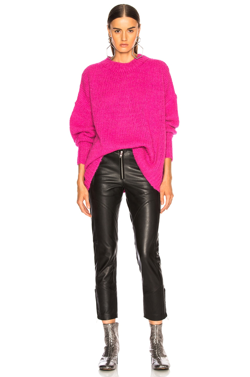 Image 5 of Isabel Marant Etoile Sayers Sweater in Pink Drop