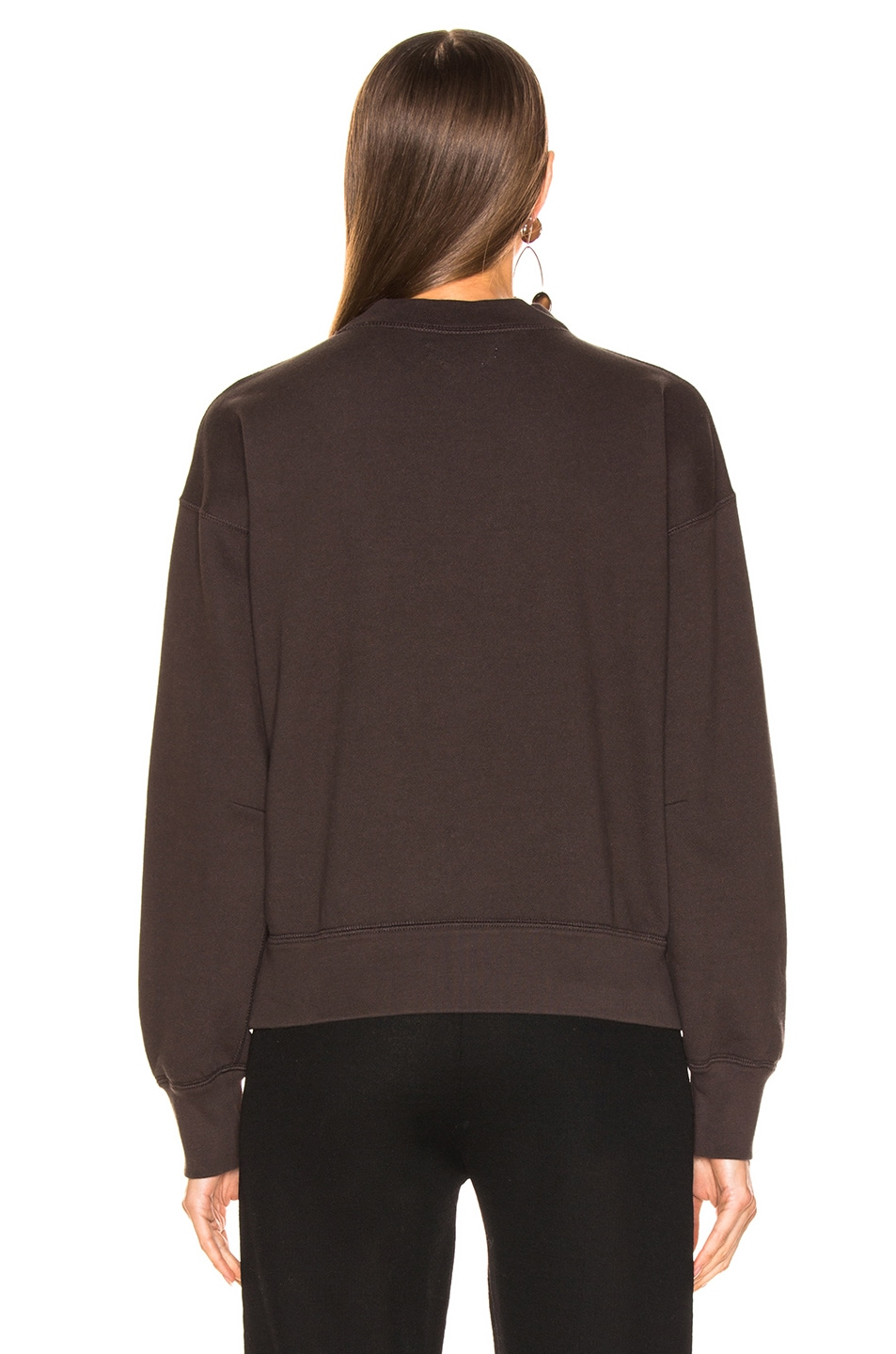 Image 3 of Isabel Marant Etoile Moby Sweater in Faded Black