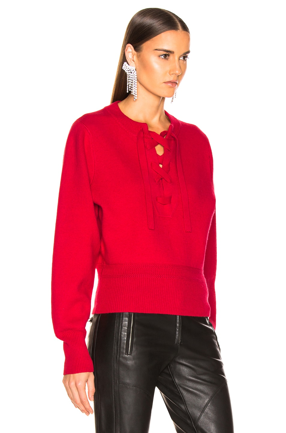 Image 2 of Isabel Marant Etoile Kaylyn Sweater in Red