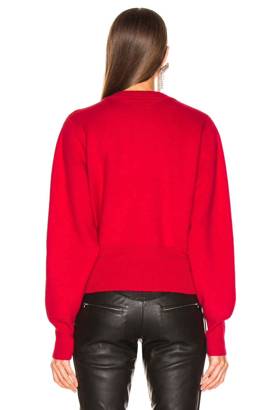 Image 3 of Isabel Marant Etoile Kaylyn Sweater in Red