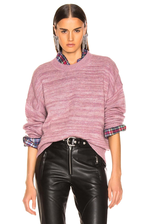 Image 1 of Isabel Marant Etoile Gatliny Sweater in Dusty Pink